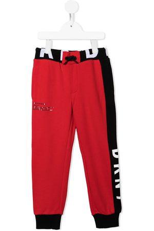 DKNY Boys Sweatpants - Logo-stripe track pants