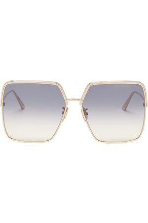 Dior Women Square - Ever Oversized Square Metal Sunglasses - Womens
