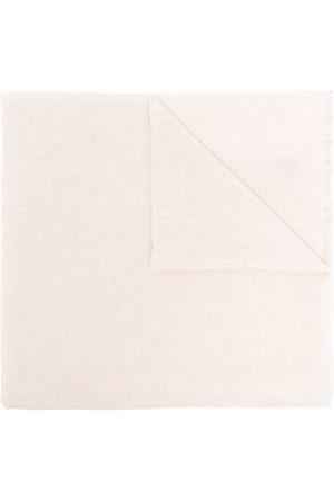 Kiton Frayed-hem knit scarf - Neutrals