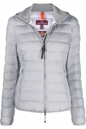 Parajumpers Hooded puffer jacket - Grey