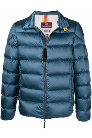 Parajumpers Logo-patch puffer jacket