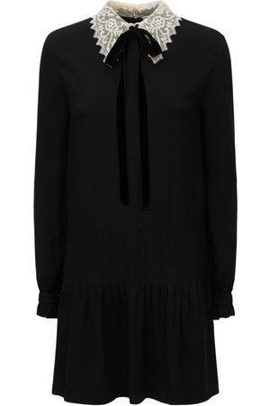 Saint Laurent Women Party Dresses - Acetate & Viscose Mini Dress