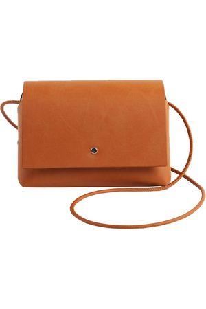 Artisanal Brown Cotton Amparito Bag - Brick Labienhecha