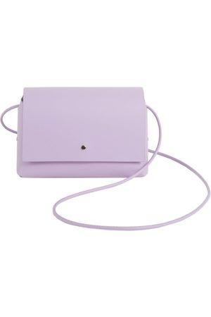 Women Purses - Artisanal Cotton Amparito Bag - Lilac Labienhecha