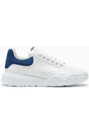 Alexander McQueen Men Sports Shoes - And blue Court low sneakers