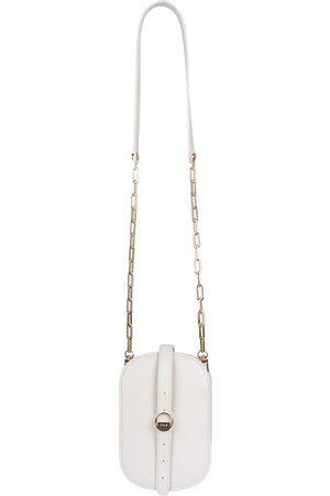 Vegan White Leather Hay Bag Oat O.N.E