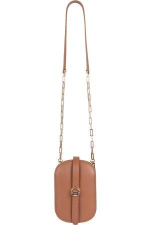 Women Purses - Vegan Brown Leather Hay Bag Tan O.N.E