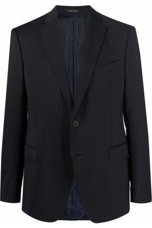 Emporio Armani Men Blazers - Fitted single-breasted blazer