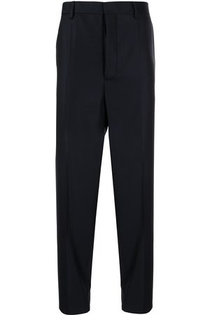 Emporio Armani Men Formal Pants - High-waisted tailored trousers