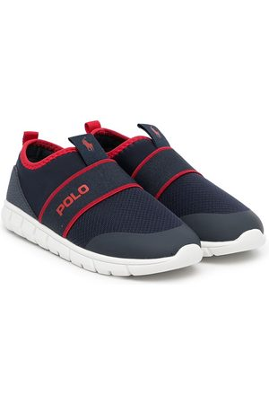 Polo Ralph Lauren Logo slip-on sneakers