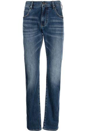 Emporio Armani Men Straight - Mid-rise straight-leg jeans