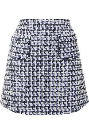 Emporio Armani Women Mini Skirts - Embroidered mini skirt