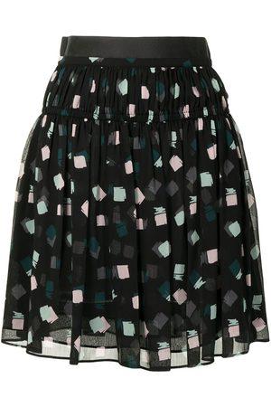 Emporio Armani Graphic-print skirt