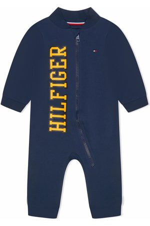 Tommy Hilfiger Baby Rompers - Logo-print cotton romper