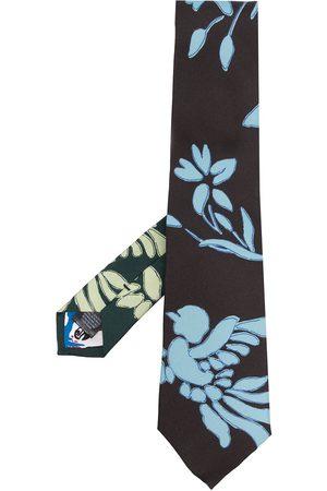 Paul Smith Men Bow Ties - Floral-print tie - Multicolour