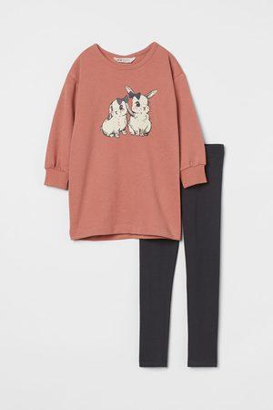 H&M Kids Loungewear - 2-piece Printed Set