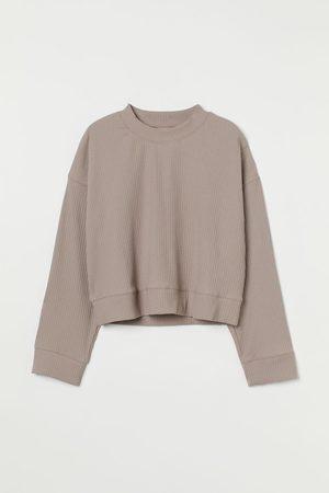 H&M Women Sweats - Ribbed Top