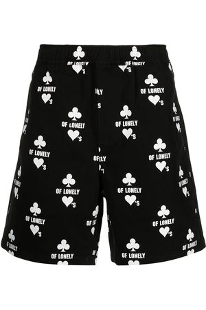 KSUBI Klub Of Hearts track shorts
