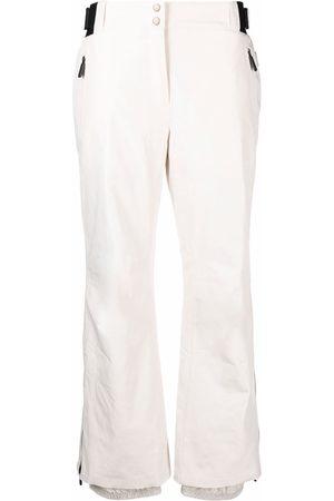 YVES SALOMON Women Straight Leg Pants - Ankle-zip straight trousers