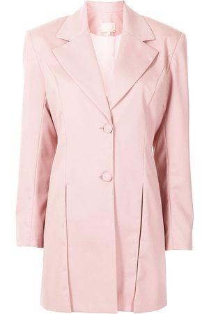 Liya Women Blazers - Box pleat detail blazer