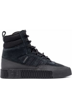 adidas Women Boots - Samba suede sneaker boots