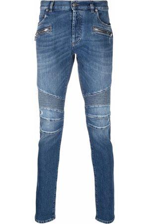 Balmain Men Slim - Slim-fit ribbed jeans
