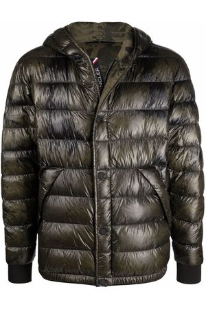 Moncler Men Puffer Jackets - Feather down-padded jacket