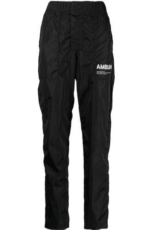 AMBUSH Women Straight Leg Pants - Workshop logo trousers