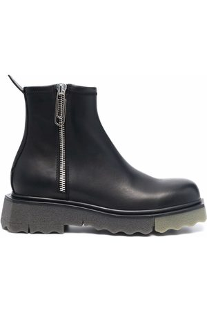 OFF-WHITE Men Ankle Boots - Zip-fastening sponge ankle boots