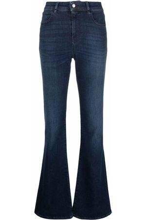 Emporio Armani High-waist flared jeans