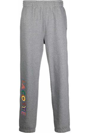 Lacoste Logo-print cotton sweatpants - Grey
