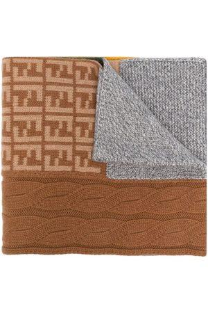 Fendi Scarves - FF knitted scarf
