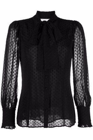 Michael Kors Women Blouses - Sheer embroidered blouse