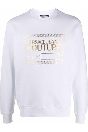 VERSACE Men Sweatshirts - Logo-print sweatshirt