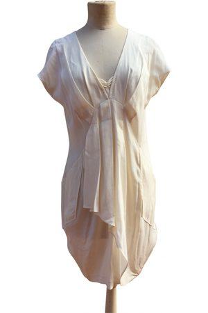 Miu Miu Women Party Dresses - Silk mini dress