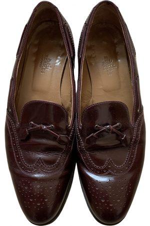 Hermès Patent leather flats