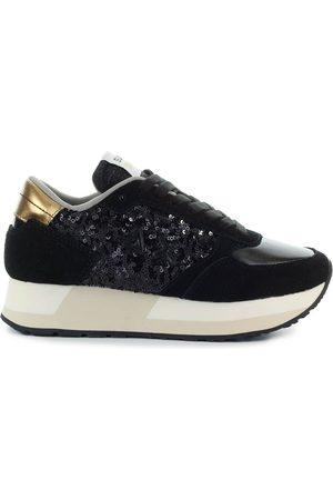 sun68 Women Sneakers - High Women Camoscio
