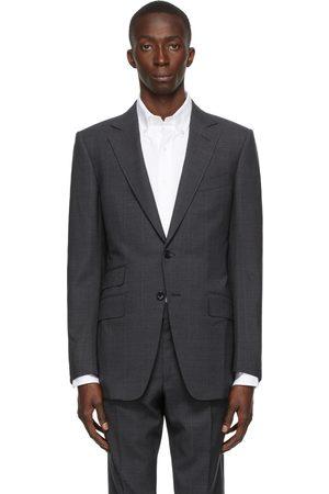 Tom Ford Men Blazers - Grey Subtle Stretch Blazer