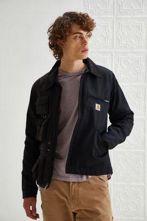 Urban Outfitters Men Fleece Jackets - Reclaimed Vintage Two-Tone Fleece Utility Jacket