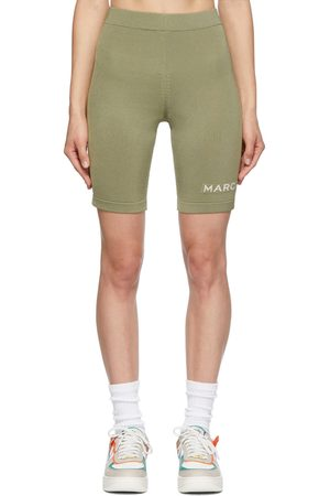 Marc Jacobs Women Sports Shorts - Tan 'The Sport Shorts' Shorts
