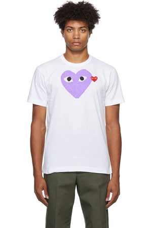 Comme des Garçons Men T-shirts - Double Heart T-Shirt