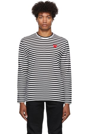 Comme des Garçons Men Long Sleeve - Striped Long Sleeve T-Shirt