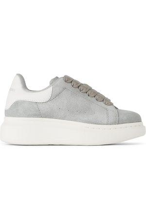 Alexander McQueen Sneakers - Kids Grey Oversized Sneakers