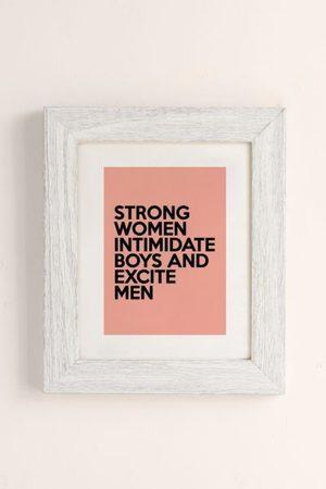 Honeymoon Hotel Women Accessories - Strong Women Art Print