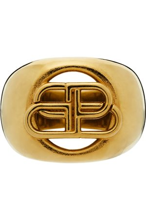 Balenciaga BB Signet Ring