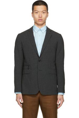 Burberry Men Blazers - Wool Single-Breasted Blazer