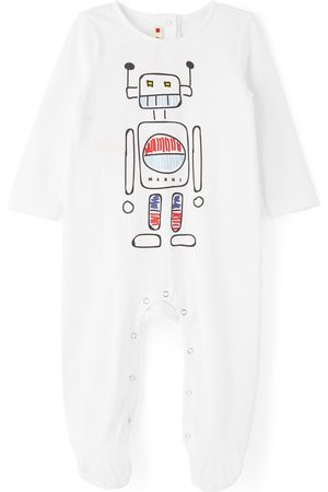 Marni Jumpsuits - Baby Robot Print Jumpsuit