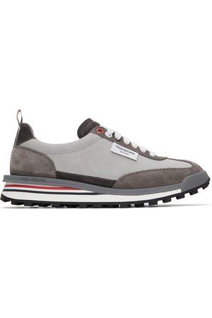 Thom Browne Women Sports Equipment - Suede Tech Runner Sneakers