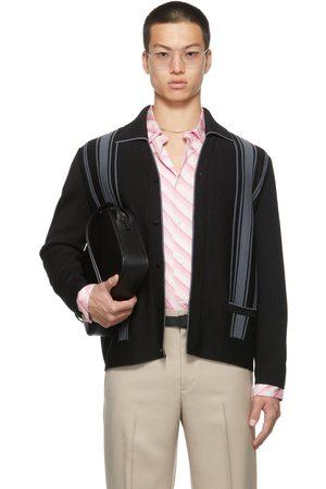 Commission Men Cardigans - SSENSE Exclusive Merino Wool Dad Cardigan