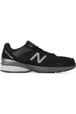 New Balance Sneakers - Kids Black & Grey 990v5 Big Kids Sneakers
